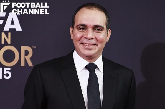 FIFA会長選に立候補しているアリ・ビン・アル・フセイン王子