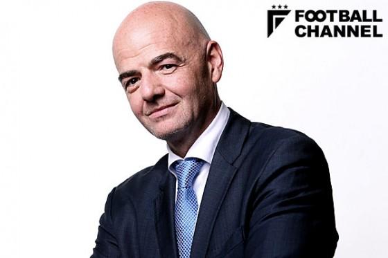 FIFA新会長のジャンニ・インファンティーノ氏