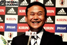 退任会見で女子サッカーのレベルが上がっていると語った佐々木則夫監督