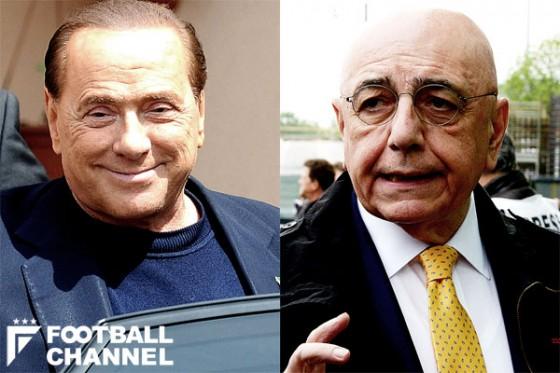 シルビオ・ベルルスコーニとアドリアーノ・ガッリアーニ