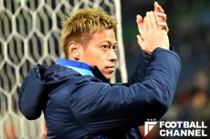日本代表の本田圭佑