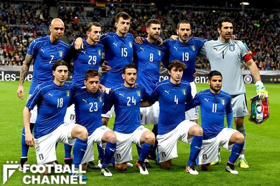 イタリア代表、EURO本戦懸けた生...