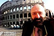 48年にわたってイタリアでラジオ実況を続けてきたウーゴ・ルッソ