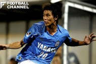ジュビロ磐田に加入後、サイドバックとしてプレーするようになった山本脩斗