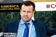 2014年ブラジルW杯後、ブラジル代表監督に復帰していたドゥンガ