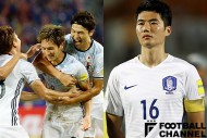 日韓代表 日韓の勝負強さが結びついた真逆の結果。韓国メディア「誤審ショックを克服」と賛辞