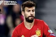 ロシアワールドカップを最後にスペイン代表から引退する意向を表明したジェラール・ピケ
