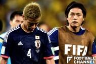 ザックジャパンの中心選手だった本田圭佑(左)と遠藤保仁(右)