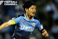 ジュビロ磐田のゲームキャプテンを務めた上田康太