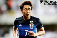 UAE戦で途中出場したMF倉田秋