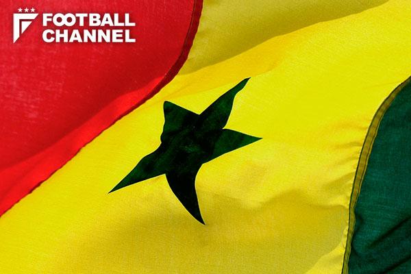 セネガル国旗【写真:Getty Images】