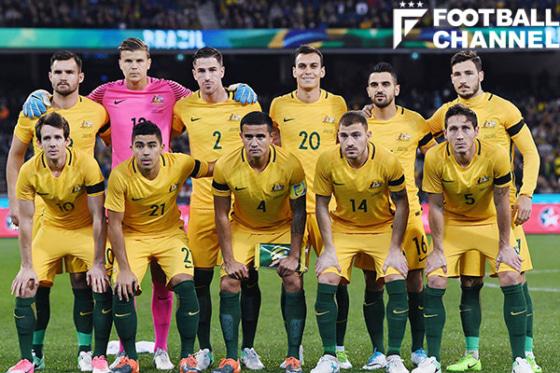 オーストラリア代表、日本代表戦...