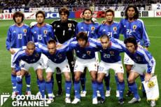 1998年大会以来となるW杯予選に臨んでいた日本代表