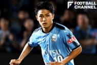 川崎フロンターレのMF大島僚太。横浜F・マリノス戦では先制ゴールを決めた