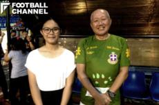 チームのオーナーである永見さん(右)と広報のレオナさん(左)