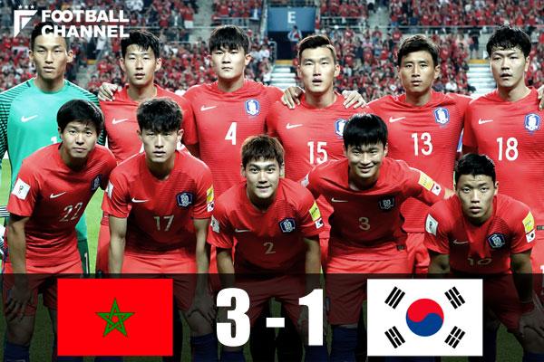 モロッコ対韓国