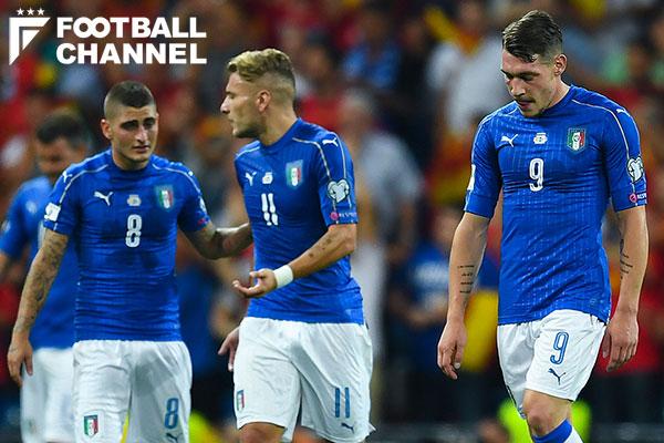 イタリア代表の選手たち【写真:Getty Images】