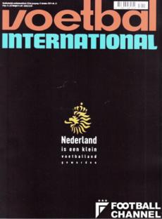 オランダのW杯予選敗退後、現地誌『フットボール・インターナショナル』は表紙が真っ黒だった