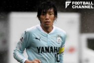古巣横浜F・マリノス戦でキャプテンマークをつけた中村俊輔