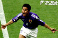 2002年W杯のチュニジア戦では、長居スタジアムでゴールを奪った森島氏
