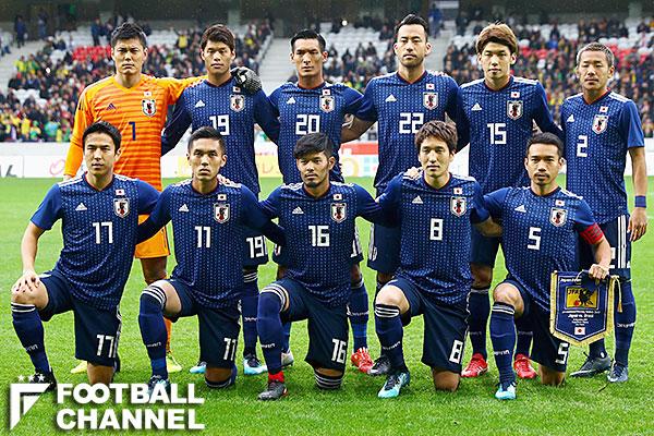 日本代表の選手たち(写真は11月10日のブラジル戦のもの)【写真:Getty Images】