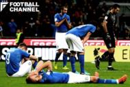 W杯欧州予選プレーオフでスウェーデンに敗れ、イタリアは60年ぶりに本大会出場を逃した