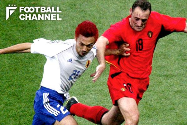 2002年ワールドカップでも対戦した日本代表とベルギー代表【写真:Getty Images】