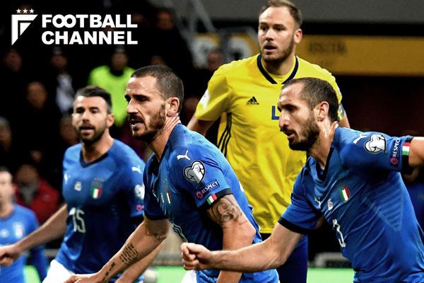 イタリア対スウェーデンもスコアレスドロー【写真:Getty Images】