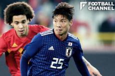 ベルギー戦で日本代表デビューを果たした長澤和輝。堂々たるプレーを見せた
