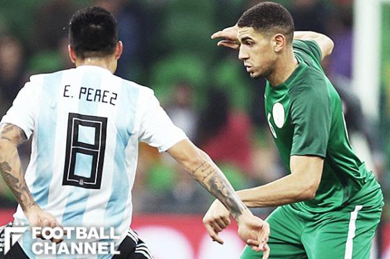 アルゼンチン代表とナイジェリア代表