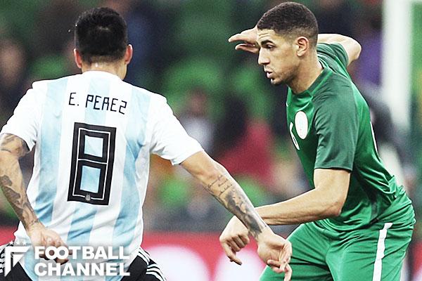 アルゼンチン代表とナイジェリア代表【写真:Getty Images】