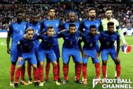 ロシアW杯ではグループCに入ったフランス代表チーム