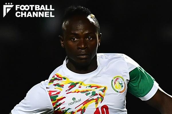 セネガル代表のサディオ・マネ【写真:Getty Images】