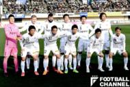 クラブ史上初のJ1、湘南ベルマーレとの開幕戦に臨んだV・ファーレン長崎のスターティングイレブン