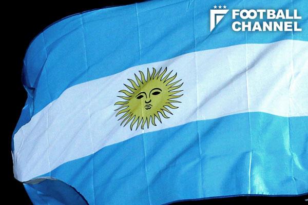 アルゼンチン国旗【写真:Getty Images】