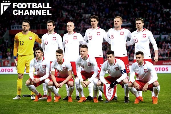 ポーランド代表【写真:Getty Images】