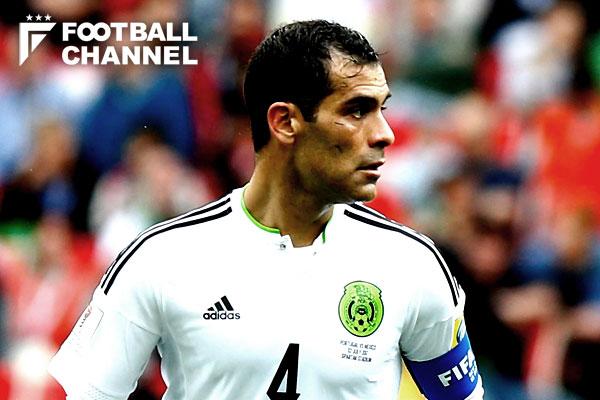 メキシコ代表のラファエル・マルケス【写真:Getty Images】
