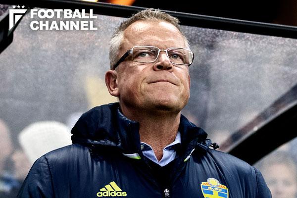 スウェーデン代表のヤンネ・アンデション監督【写真:Getty Images】
