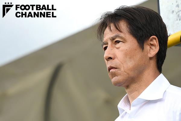 日本代表を率いる西野朗監督【写真:Getty Images】