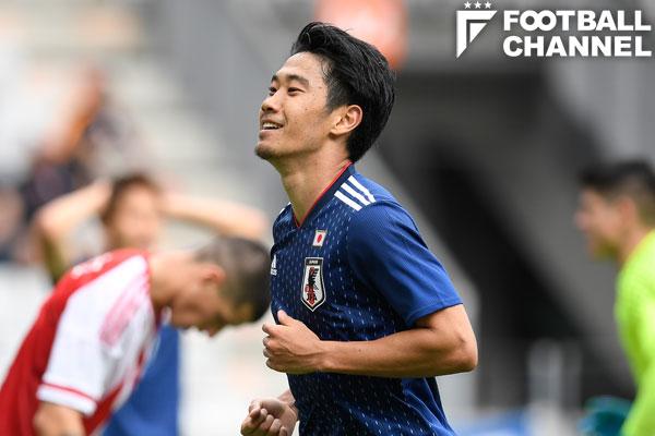 日本代表の香川真司【写真:Getty Images】