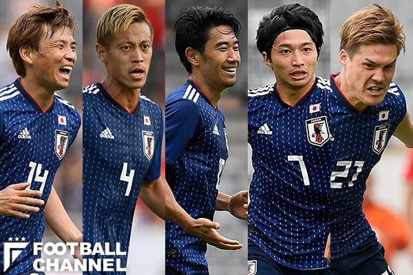 日本代表のポジション争いはどうなっている?【写真:Getty Images】