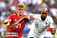 フランス対デンマーク