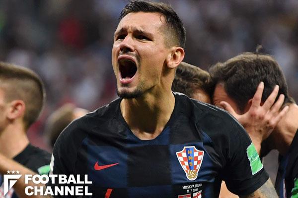 クロアチア代表のDFデヤン・ロブレン【写真:Getty Images】