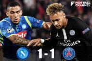 ナポリ対PSG