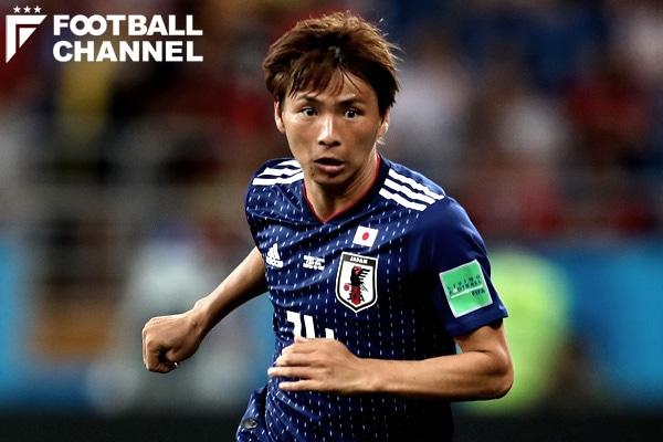 日本代表の乾貴士【写真:Getty Images】