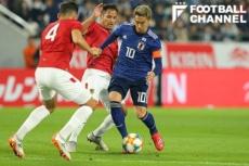 日本対ボリビア