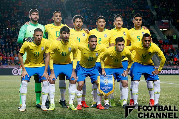 サッカー ブラジル代表 最新メンバー一覧