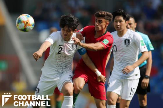 U-20韓国代表とU-20ポルトガル代表