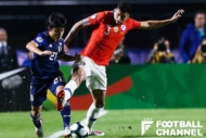日本代表vsチリ代表