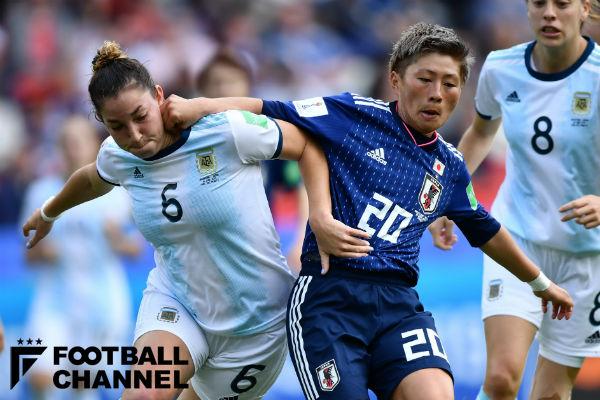 アルゼンチン女子代表と日本女子代表